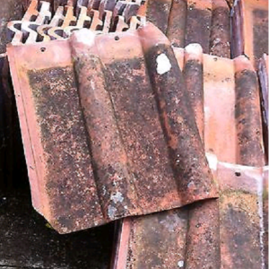 Reclaimed Double Roman Clay Roof Tiles